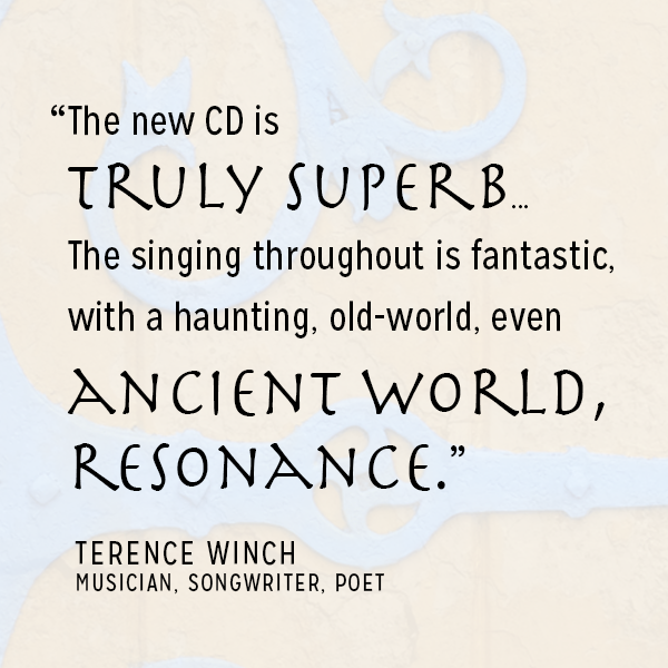 Text Quote Endorsement for Trio Sefardi from Terrance Winch